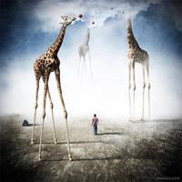 Giraffeland by manurs