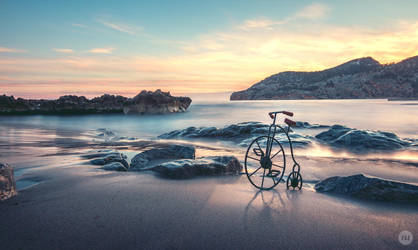 My bicycle by manurs