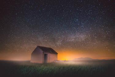Bajo un manto de estrellas by manurs
