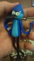 Mordecai (Plastic Figure) by itsHelias94