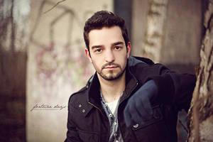 Shooting Aaron U. // Winter 2013 by AngelxBaby