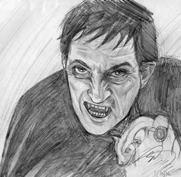 Quick Barnabas Collins Sketch by sarahmandrake