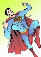 Superman Time by AndrePaploo