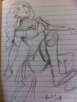 Phoenix doodle sketchbook by AndrePaploo