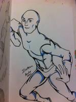 Iceman Sketch by AndrePaploo