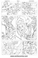 Fantastic Four Page 3 by AndrePaploo
