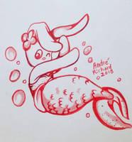 Mermaid Jeepers by AndrePaploo
