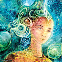 Quantum Goddess by farboart