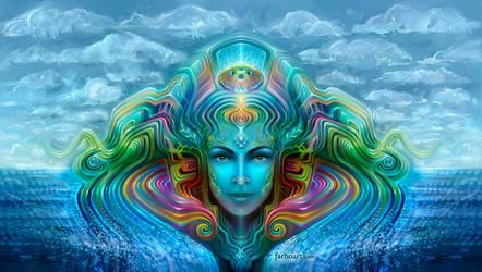 Jellyfish Goddess by farboart