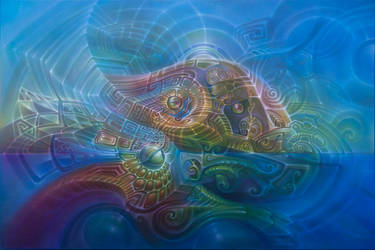 Leafy Sea Dragon by farboart