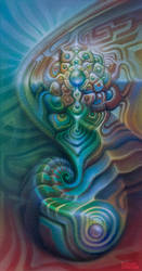 Spiralling Mandala by farboart