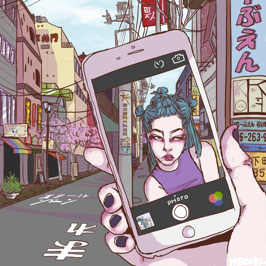 selfie by HElSHO