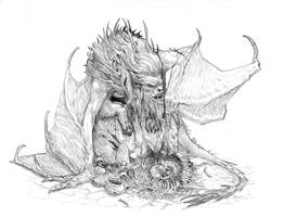 Crit Role Manticore by Stephen-0akley