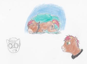 Practice ponies by KyleScott