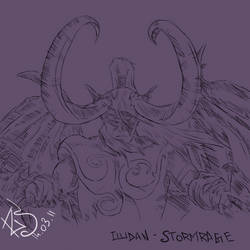 Illidan Stormrage by Rahlie