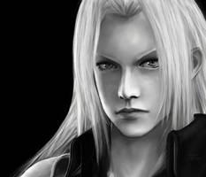 Final Fantasy VII, Sephiroth by SaoriAiko