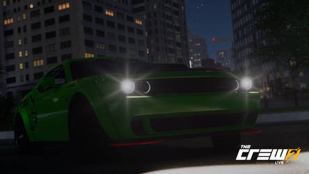Dodge Challenger SRT Hellcat by Brachydios1709