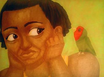 My little bird series 3/3 by I-Am-A-Flying-Bird