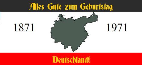 Alternate Banner: Germany's 100th Birthday by JackMarrow