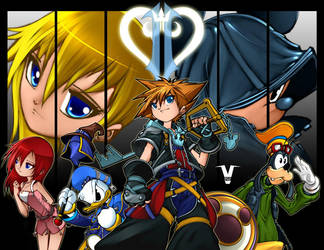 Kingdom Hearts by bleedman