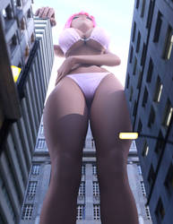 Giantess by stronggirlstory