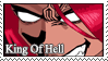 King of Hell - stamp by NoAngelHonestly