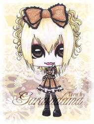Teru de Hizaki Grace Project by GarasudamA