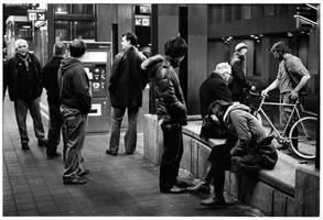 The Light Rail Crowd by Lekompakt