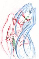 Saint Sebastian Oberon pencil by UnionJacked