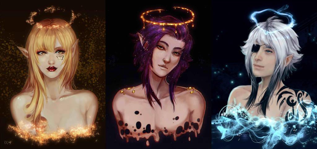 Lightrisen - the Archangels by Twigileia
