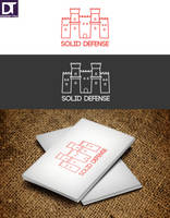Logo Solid Defense by artdigitalazax