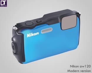 Nikon aw120 by artdigitalazax