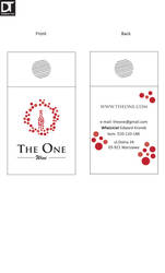 The One - Business card on the bottle by artdigitalazax