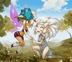 Songe and Zehra by Next--LVL