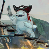 Suwash the pirate captain by Next--LVL