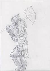 Atlas The Dread Alpha by berrikade