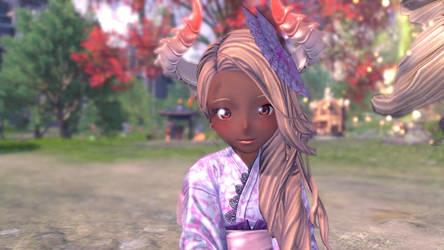 Dragon lady, Rene :3 by modlo