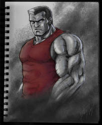The Big Sexy Man Himself: Colossus by Fortis-Ferus