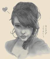 my portrait by Reenigrl
