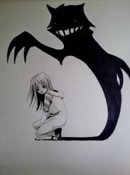 My shadow by Reenigrl