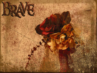 Brave CD Cover1 by laurieannhaus