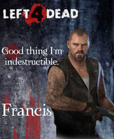 Left 4 Dead-Francis by Isobel-Theroux