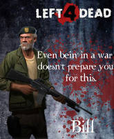 Left 4 Dead-Bill by Isobel-Theroux