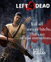 Left 4 Dead-Ellis by Isobel-Theroux