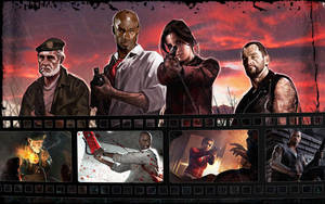 Left 4 Dead by Isobel-Theroux
