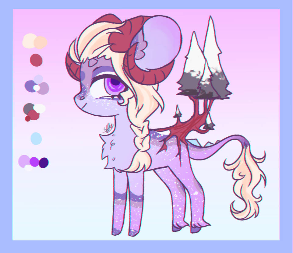 Snow Alatus Bonsai ADOPT = OPEN = by NothingEspecial