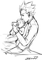 Baby Morty by kiwaart