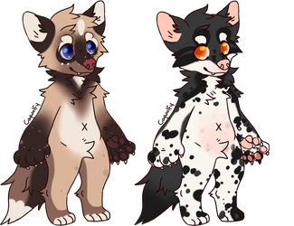 Anthro Wolves Adopts -CLOSED- by LysAdopts