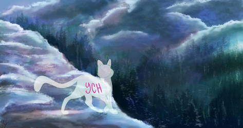 Snowy mountain -YCH/Open by LysAdopts