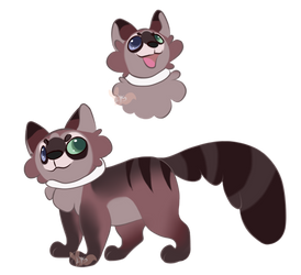 Munchkin cat- CLOSED- by LysAdopts